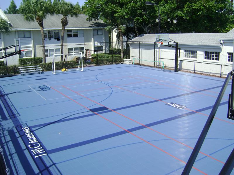 Build Multi Game Court