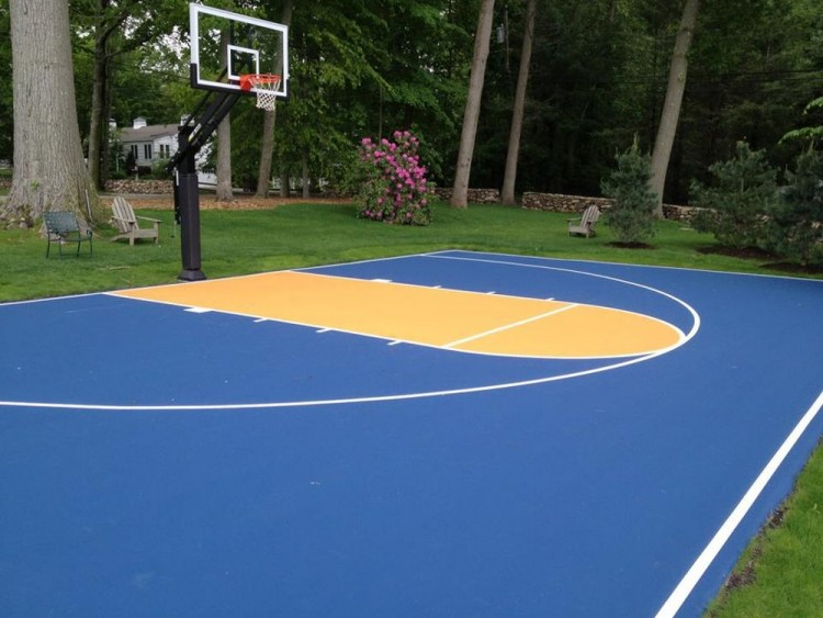Build Basketball Court