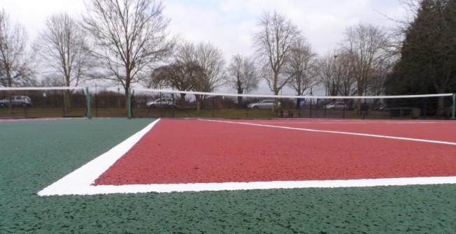 Repaint or Repair a Tennis Court