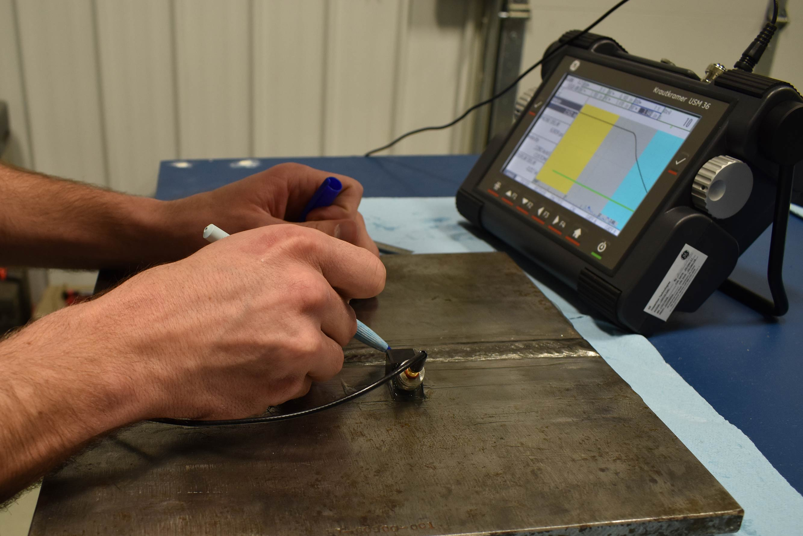 Shear Wave Ultrasonic Testing