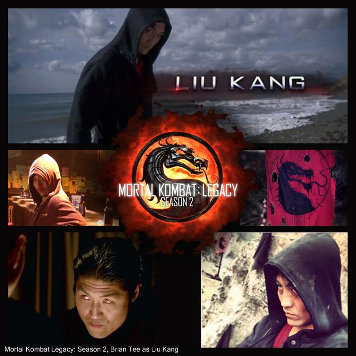 Mortal Kombat, Mortal Kombat Legacy, Liu Kang, Brian Tee