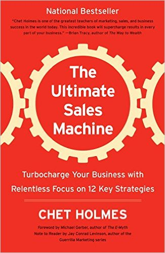 Ultimate Sales Machine, Chet Holmes, Jonathan Strietzel, Sales, Stadium PItch