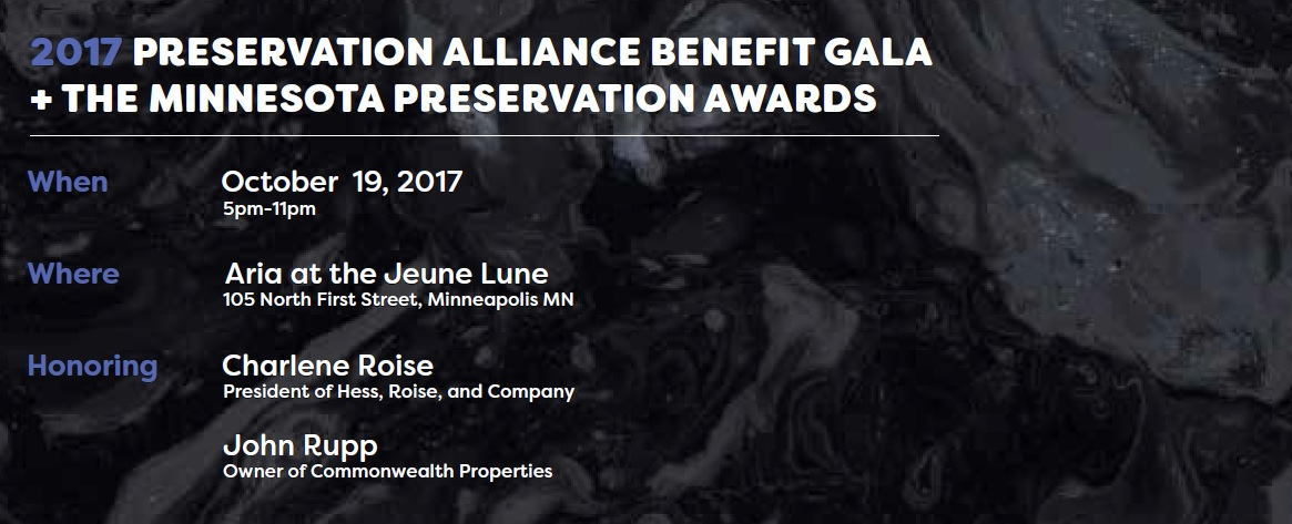 2017 Preservation Alliance Poster