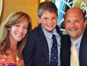 Dina D'Ambrosi and family
