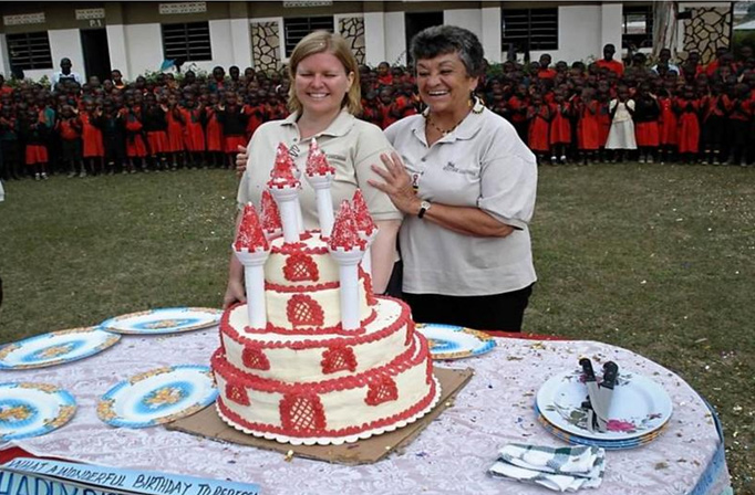 Christmas Cake for 1300 children.
