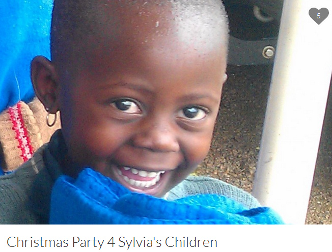Fund Sylvia's Children Christmas Party.