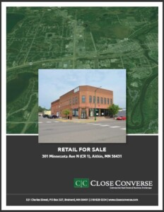 Close Converse Real Estate Flyer