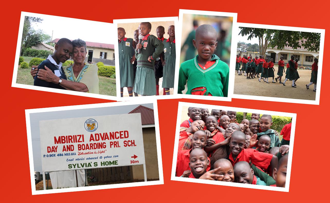Sylvia's Children in Uganda