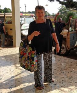 Sylvia in Uganda