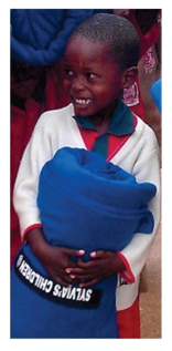 Child with Blanket