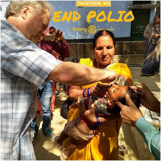 Rotary End Polio Poster