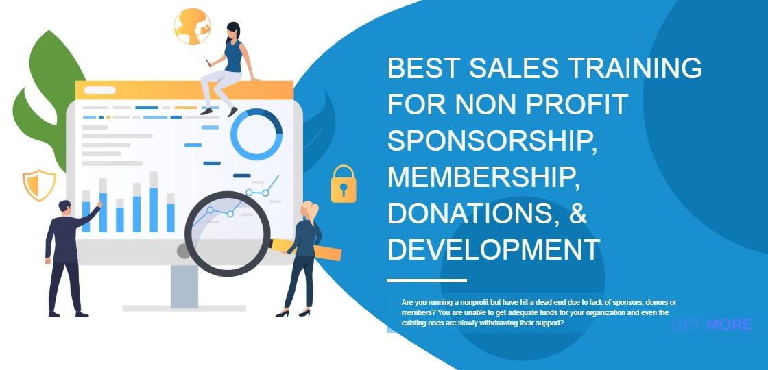 Non Profit Sales Training Site