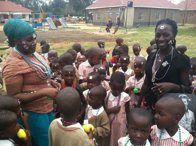 Slyvia's Children with Staff