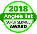 Houston Contractor Angie's List Super Service Award 2018