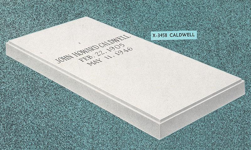 X-3458 Caldwell