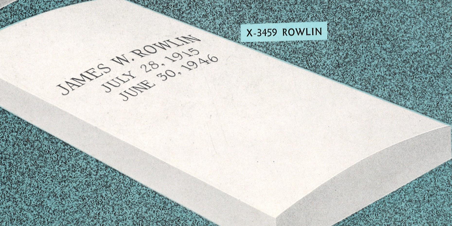 X-3459 Rowlin