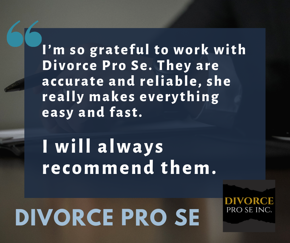 Divorce attorney vs divorce pro se A review of our divorce service.