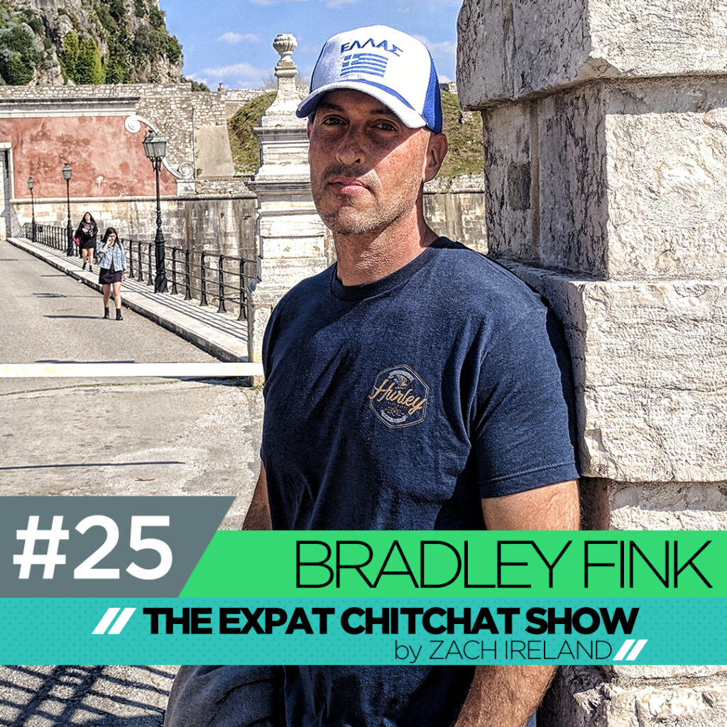 The Expat Chit Chat Show Episode 25: Bradley Fink
