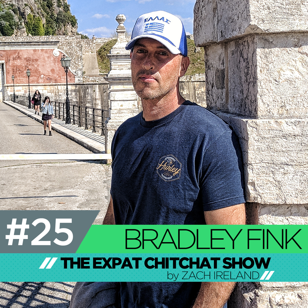 Bradley Fink: On Leaving Corfu And Moving To London