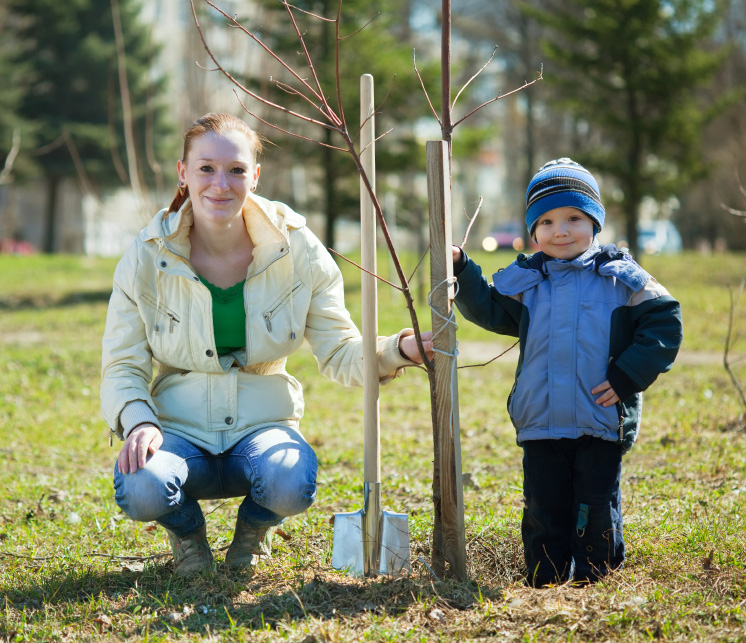 planting-rees-with-kids
