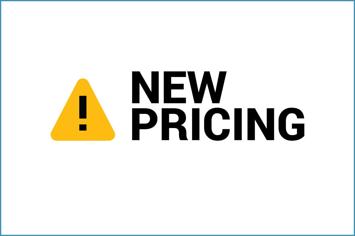QuickPanels New Pricing