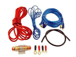 Kit Cables Para Amplificador Kuerl 8GA