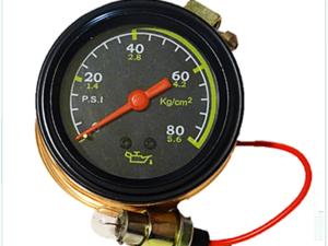 Reloj Medidor de Presión de Aceite