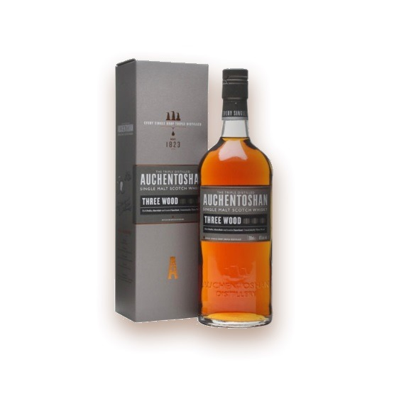 Auchentoshan Whisky Three Wood – Scotch Whisky