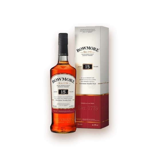 Bowmore Whisky 15 year old – Scotch Whisky