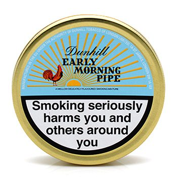 Dunhill Pipe Tobacco - Early Morning Mixture Pack of 3