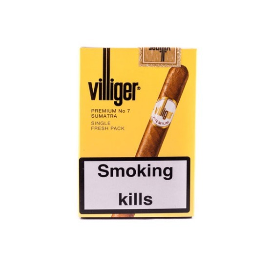 Villiger Premium No.7 Cigars – 5 x Pack of 5