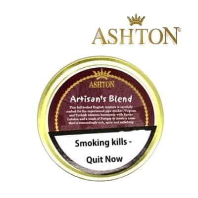 Ashton Artisan's Blend Pipe Tobacco 50g tin