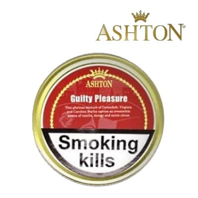 Ashton Guilty Pleasure Pipe Tobacco 50g tin