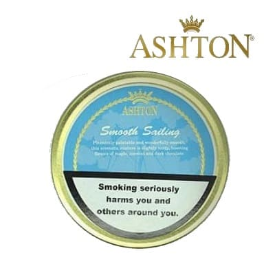 Ashton Smooth Sailing Pipe Tobacco 5 x 50g tin
