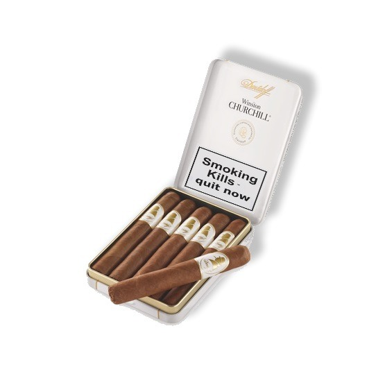 Davidoff Winston Churchill Petit Panetella – The Raconteur Cigar – Tin of 5