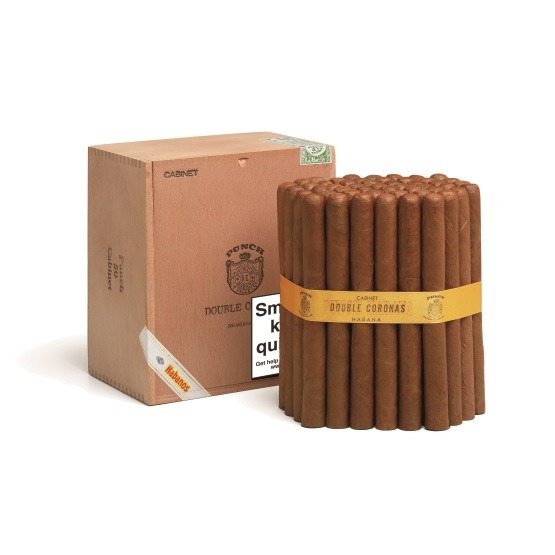 Punch Double Coronas Cigar - Cabinet of 50