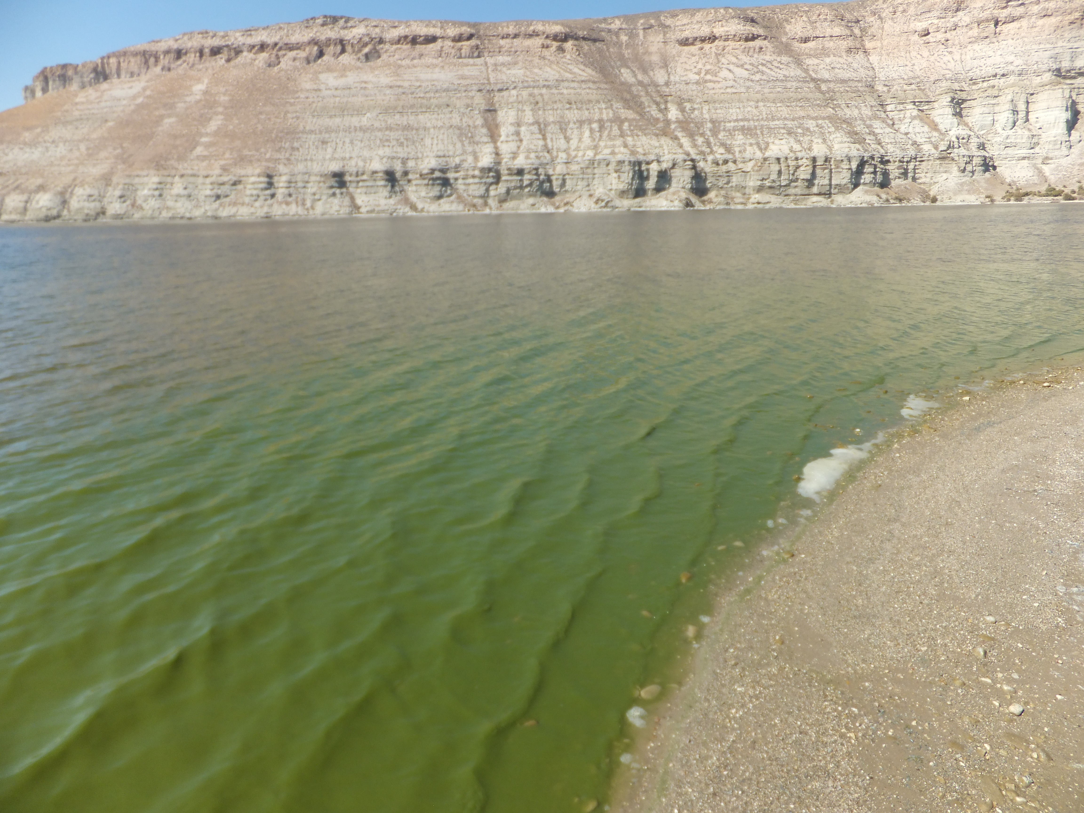 Flaming Gorge Firehole Canyon Beach - September 19, 2018