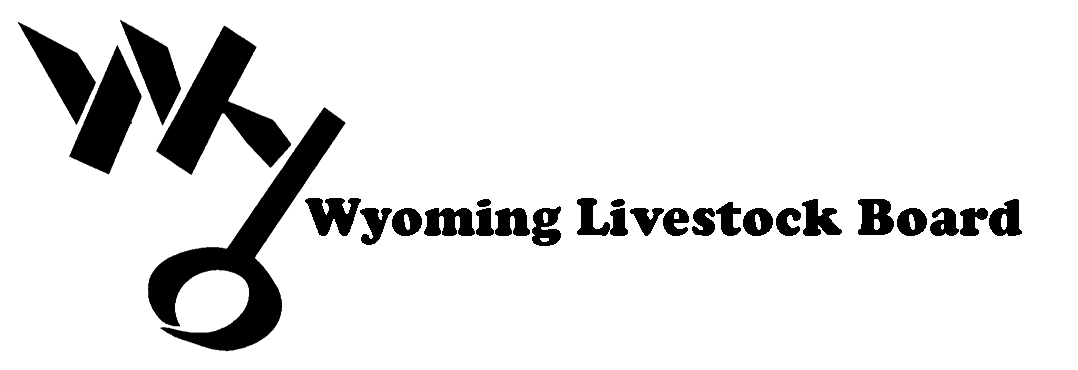 Wyoming livestock board logo