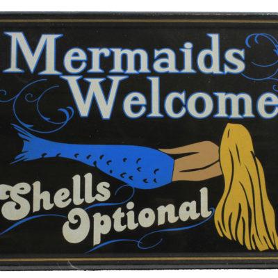 "12"" Mermaid's Welcome - Shells Optional"