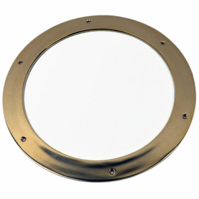 """12"""" Solid Brass Porthole Ring Nautical Tropical Home Decor"""