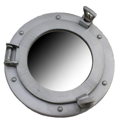"""9"""" Aluminum Porthole Mirror"""