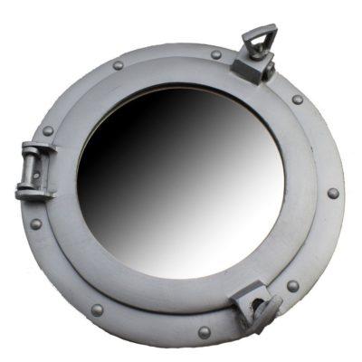 """12"""" Aluminum Porthole Mirror"""