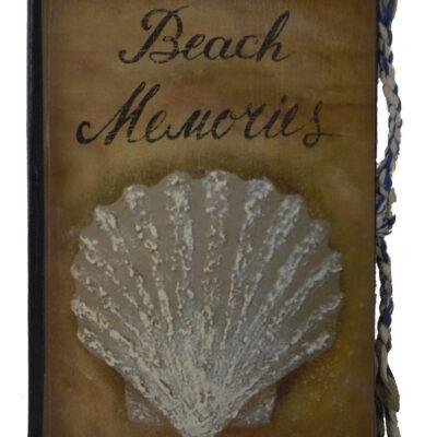 """8.25""""h Beach Memories Journal"""