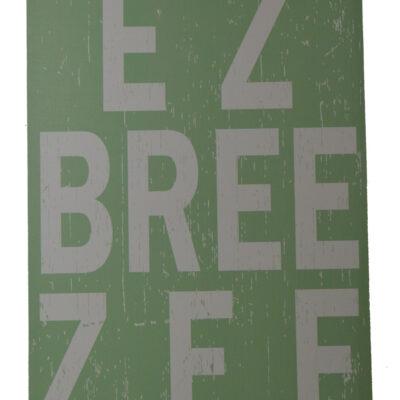 """26""""H EZ Breeze Green Ocean Breeze Wall Canvas"""