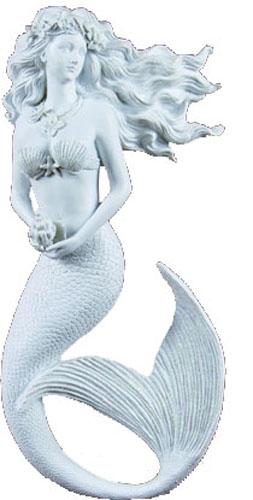 """Magic Mermaid Resin Wall Art Figure 14.5""""H"""