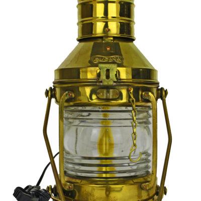 "14""H Electric Brass Nautical Lamp"