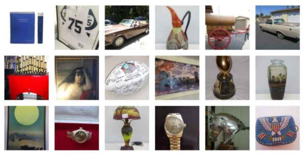 estate sale items sold