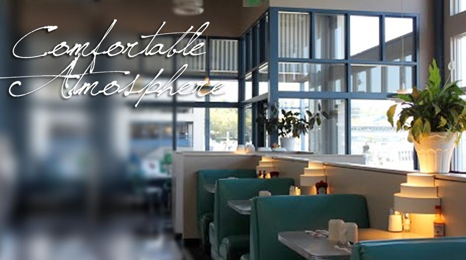 image - comfortable atmosphere | Bay Cafe Fisherman's Terminal, Seattle, WA