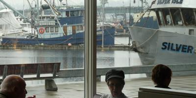 Waterfront View | Bay Cafe at Fisherman's Terminal, Seattle WA