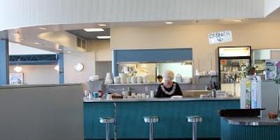 Colorful Bar | Bay Cafe at Fisherman's Terminal, Seattle WA